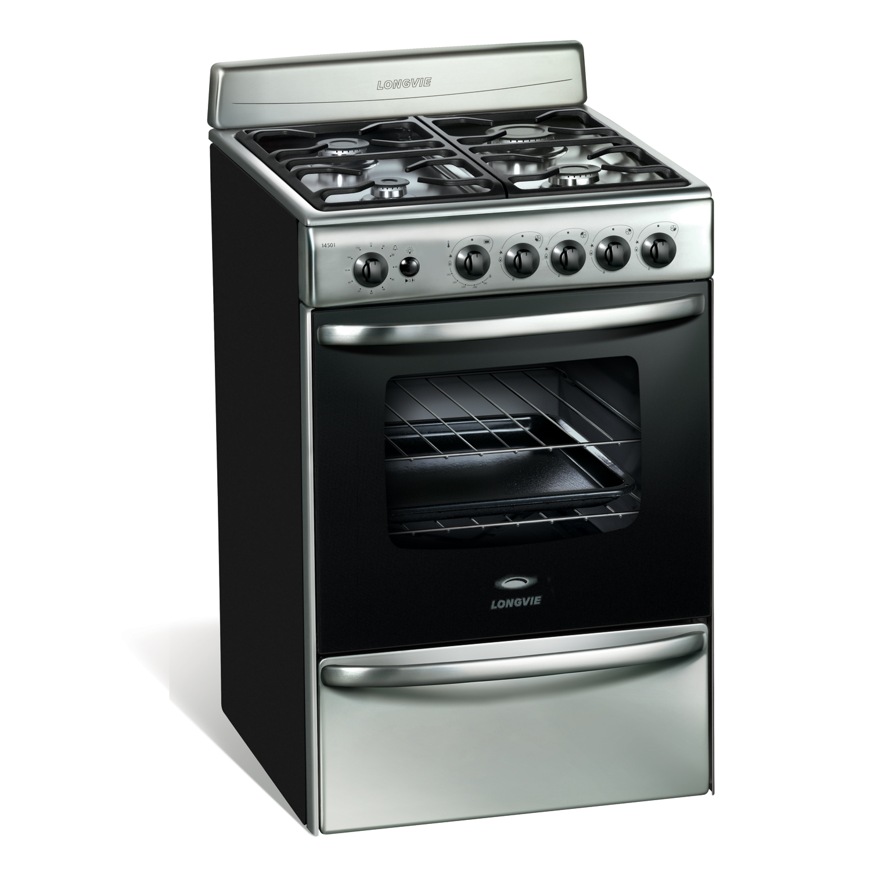 Cocina longvie 18501xf cocinas marcelo boggio for Cocina de gas carrefour